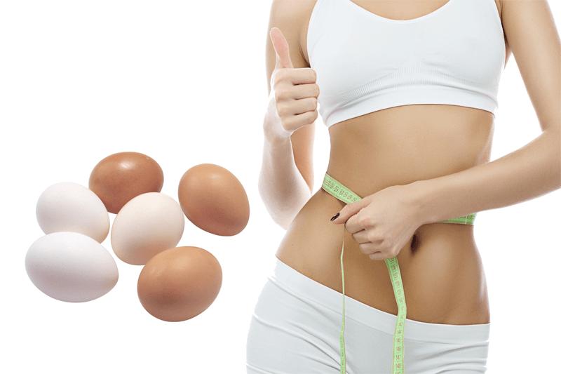 Bí quyết giảm cân siêu tốc bằng trứng gà bạn biết chưa?