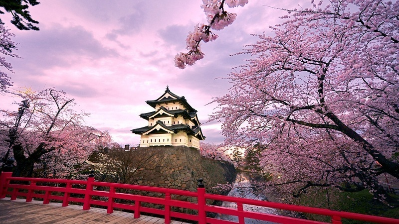 Du lịch mùa xuân với những địa điểm tại châu Á siêu hấp dẫn