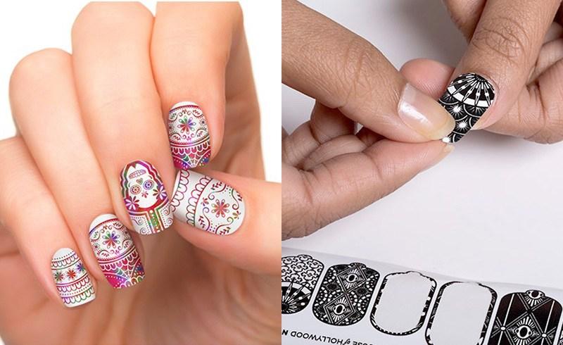 """Sticker dán móng tay: """"cứu tinh"""" cho nàng vụng về muốn có bộ nails đẹp"""