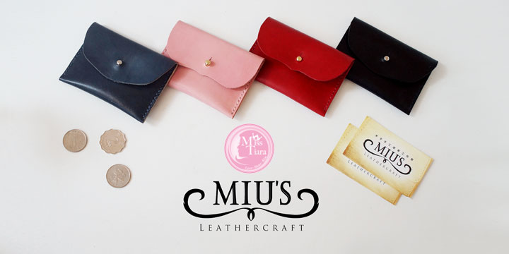 Miss Tiara X MIUs Leathercraft 情人節皮革工作坊