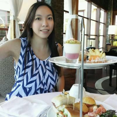 Afternoon tea in bali #afternoontea #bali #hkcouple #hkgirls #hkig #hk #travel #nusadua #stregishotel #relaxing