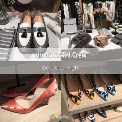 shedates X J.Crew Boutique Night👚👠 #shedotcom #shedates #shecom #JCrew  #JCrewHK #JCrewFashion #JCrewStyle #BoutiqueShop #Shopping #Fashion #Fashionable #Denise #Deniseyuyu #InAHurry #Rush #Shoes #Heels #Clothing #Clothes #Flats #Loafers #Lifestyle #LifestyleBlogger #CausewayBay #TimesSquare #Autumn #Autumn🍁 #Season #AutumnSeason