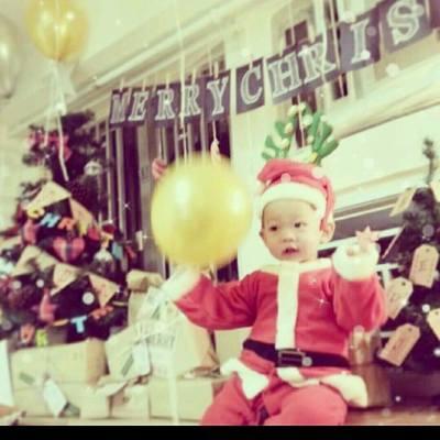 我粒燒賣仔預早同大家講聖誕快樂~~~ #xmas #happy #聖誕派對