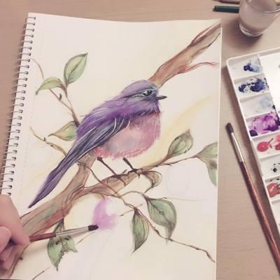 bird #그림