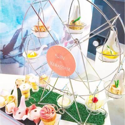 幸福摩天輪🎡 . @kerastasehk x @hotelsav Parisian Afternoon Tea  . #misstiara #lovemyjob #hkfood #hkfoodie #hkdessert #afternoontea #hightea #hotelsav #kerastasehk