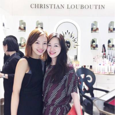👯💄💋❤️ @siuxsing . Congratulations on the opening! More and more to come! . #happyfriday #TGIF #happyweekend #christianlouboutinhk #christianlouboutin #christianlouboutinbeaute #newopening #lanecrawford #ifc #hkbeauty #redlips #misspshopping #20161007