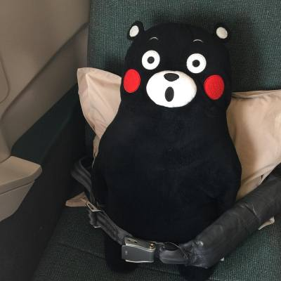 All ready to go! ✈️ 11 hours and 15 mins! 😴 #happychinesenewyear #losangeles #FDD #MYM #LYM #vacation #kumamon #20160205