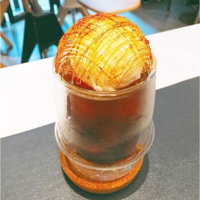 破例飲凍飲😛  . Golden Bird Cage . #hkfood #hkfoodie #hkdessert #coffee #myochk #cwb #hot
