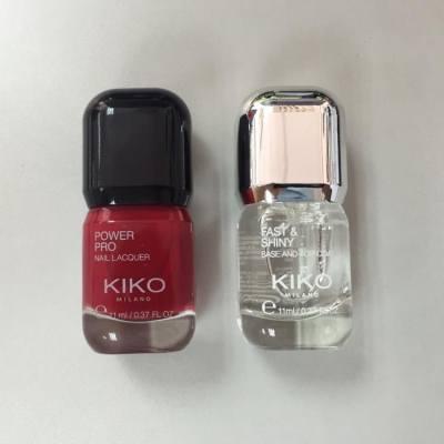新甲油 #KIKOMILANO #nail #red