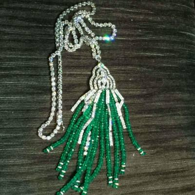 One of the most beautiful necklaces! #diamond #emerald #carat #color #clarity #cut