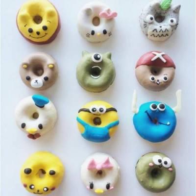 【我個心都穿咗個窿呀】 你咁得意我邊捨得食你呀BB ?😘😘😘  --- Source: Instagram@eliseaki #misstiara #donut #misstiaralifestyle #可愛