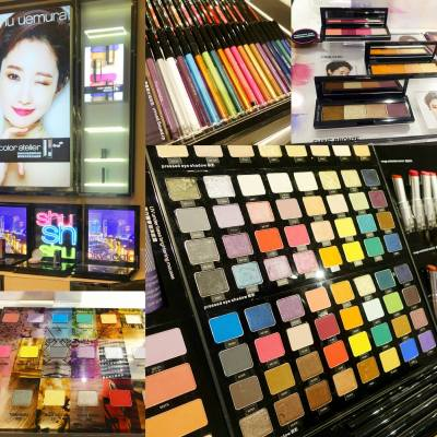 【Color Your Day】shu uemura 既Color Atelier 系列有100隻色~! 令你可以體驗100種東京色彩,創造屬於你既個性氣質眼影 。 出街想要好心情,點可以冇佢?  #misstiara #shuuemura #coloratelier #shugirl  @shuuemurahk