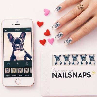 如果想製作自己獨一無二的指甲圖案,Miss T推介手機程式Nailsnaps! #misstiara #misstiaralifestyle #misstiarafashion #nailsnaps #指甲