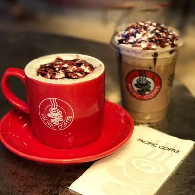 有咩好得過tea time飲返杯又靚又好味既黑森林mocha ☕️ 享受人生😌 #misstiarahk #pacificcoffee #mocha #teatime