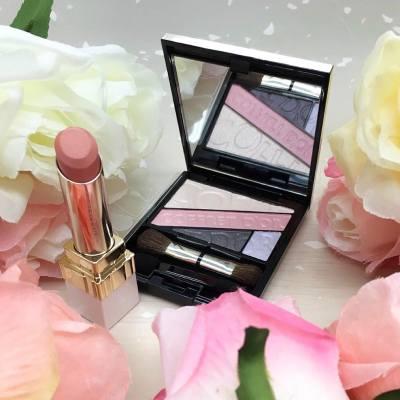 COFFRET D'OR 呈獻,如晨早的露珠般水漾的櫻桃色唇妝💄💋如水漾閃爍的明眸眼影組👀讓我們抓緊春天的尾巴🌳散發出甜美且清純的妝容😊  #MissTiaraHK #followmisstiara #shoppinginspiration #newlaunch #hkbeauty #lipstick #eyeshadow #COFFRETDOR #COFFRETDORHK