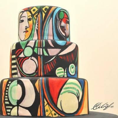 這位女生將世界名畫重現在蛋糕上,實在太amazing啦!  -- source: Maria A. Aristidou Studio #misstiara #misstiarahk #misstiaralifestyle #cakecanvas #cakegallery #藝術