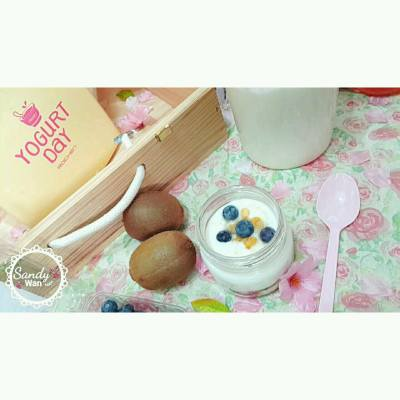 Yogurt Time 。。😋 homemade by yogurt maker . . For product purchase please visit www.kipup.com.hk  KipUp's Instagram @kipup.hk KipUp's facebook: https://www.facebook.com/kipup.hk . #homemade #yogurt #yogurtmaker #cheesemaker #kipuphk #korea #乳酪 #韓國