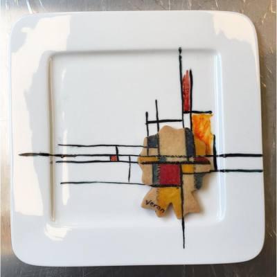 I🎨 #painted #PietMondrian #painting  #cookies🍪