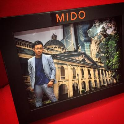 The #fotomo 3D photo that I made for 梁祖堯,a  #MIDO #watch #Switzerland press event  #beinspiredbyarchitecture #MIDO #MIDOwatches #swiss #watch #fotomo #3Dphoto #photomedia #art #artist #veronsung #artwork #model #veronsungstudio #V工作室 #thebridgehk