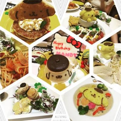 Birthday dinner with Pompompurin #birthdaydinner#birthday#pompompurin#chocoolate#happy
