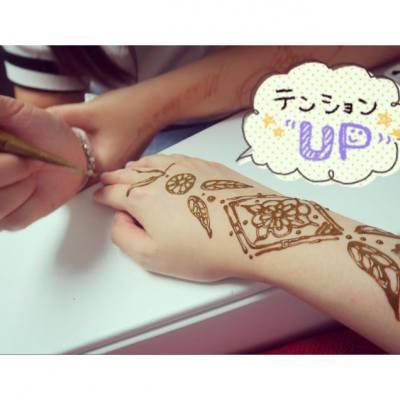 謝謝Bowie @oh.henna workshop為我畫上清新典雅的Henna😊 好喜歡喔❤️✨