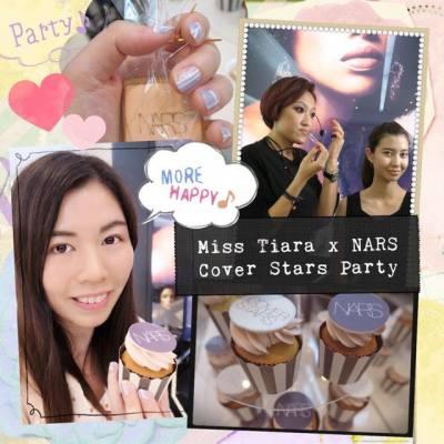 剛從MissTiara x NARS的Cover Stars Party回來,今次的彩繪甲太美了,超推介薰衣草色甲油❤️彩妝示範也很精彩~  #narshk #nars #narscentral #narscoverstars #narspowerfall #hkblogger #bloggerevent #misstiara