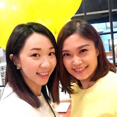 Lipton English Tea Party 🙂☕️ 與美女廚神 -K I T- 合照 💛💛 #MissTiara #liptonhk #liptontea #kitmak #blackmildtea #afternoontea #collectstamp #selfie