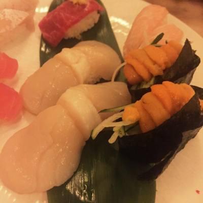 好大好大粒帆立貝 ❣ #japanesefood #sushi #oishi