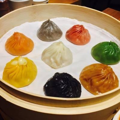 樂天皇朝雅蘭分店新張優惠 order 一籠8色小籠包 即送一籠原味小籠包 🙂🙃。#paradisedynasty #mongkok #dinner