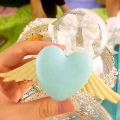 Macaron送你一對👼🏼翼 💙   #dkcuppatea #dkaromatherapy #loveofpsyche #賽姬戀曲 #afternoontea