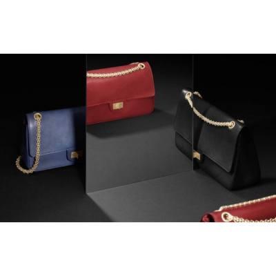 新款 Chanel 2.55 Flap Bag 💞 • L O V E This •  #chanel #chanel2016 #newcollection #shopping #flapbag #elegant