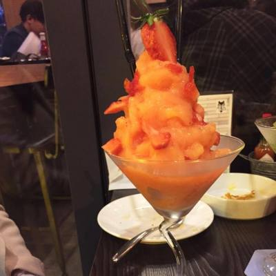 #oldlandpeach #mocktail #peachandstrawberry #woft #mongkok