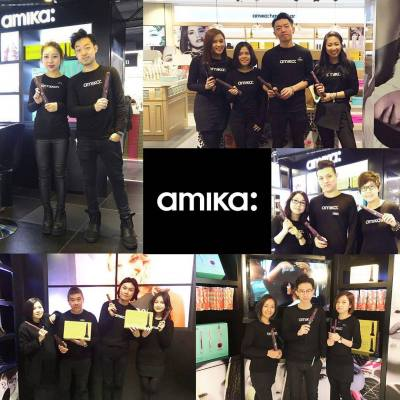 立即來amika 形象專櫃 - 開展全新MOVOS 無線造型體驗!