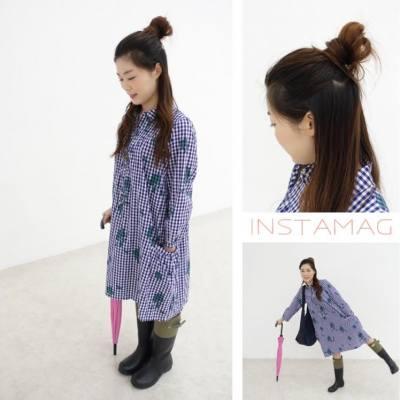 #FingyanWingOutfits  落雨又有咩好怕wor☔️☔️☔️ 不用五分鐘的簡單波波頭✌🏻️  直傘🌂+雨靴👢👢點濕都唔怕啦😁✌🏻️  #outfits #rainningday #blue #hairstyling #hkblogger #hkbeautyblogger #hkfoodblogger #blogger