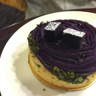 大家試左Pacific coffee Christmas special 紫薯tart未呢?#misstiara吃喝購物世界