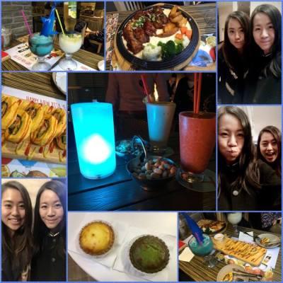 有朋自遠方來😘 #hkfood #food #harlans #goobne