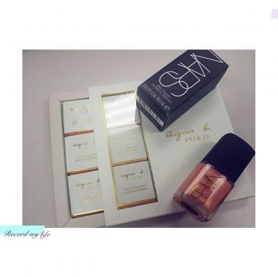 【Life】收到驚喜禮物❤,THX 生活家 P&G Hong Kong  #P&G #livingarthk #生活家 #nars  #nailpolish #orgasm #agnesb #chocolate #blogger #beautyblogger