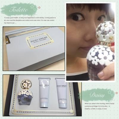 我終於忍不住買了,online shopping 真的好方便敗家 #onlineshopping #marcbymarcjacob #daisydream #perfume #mbmj #beautyblogger #aster #giftset