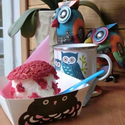 夏日炎炎雪糕永遠是最佳的消暑食品 Owl's Choux & Gelato 的 RED VELVET Choux Pastry  with Vanilla & Dried Almond Gelato  口味清新又獨特 | | Owl's Choux & Gelato  | 尖沙咀麼地道32號地下 | #RedVelvet #相機先食 #yummy #hkfood #hkblogger #BeautySearch #foodblogger #delicious #iloveeating #dinning  #hkfoodie #instafood #吃貨 #手機先食 #一路食一路post #邊走邊吃 #foodie #foodblog #foodshare #foodstagram #foodlover #hkig #food #gathering #lifestyleblogger #gourmet #美味しい #dessert