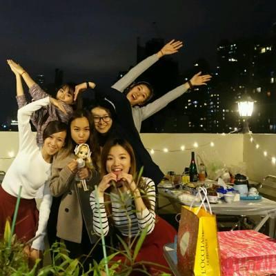 話咁快就識左你地10+年 (老 xox ), can't live without my besties #rooftopparty  #friendship