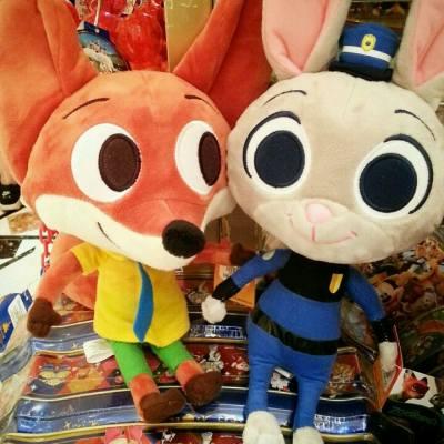 有喜歡他們的嗎?  #disney #disneyhk #zootopic #judy #nick #disneyland #pixar