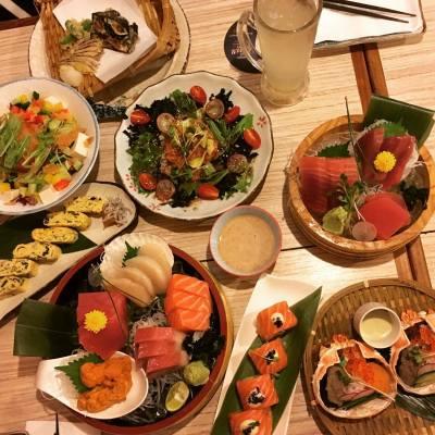 其實做人好簡單,有得同一班朋友聚下,食下野,又開心過一晚!  #yummy #mscammy #卡咪黃 #食食食 #hkig #hkfoodie #foodie #blogger #lifestyle #friendgathering #講女C生活 #棉花糖女孩 #food #japanesefood #japanesstyle #hk #焱丸水產 #seafood #焱丸蟹噌甲羅燒