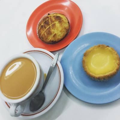 Tea Time @ 蛇竇  #sharefood #foodlover #hkfoodblogger #hkfoodie #yummyfood #mscammy #講女C生活 #mscmakeupspace #foodiehk #followme #teatime #afternoontea #eggtart