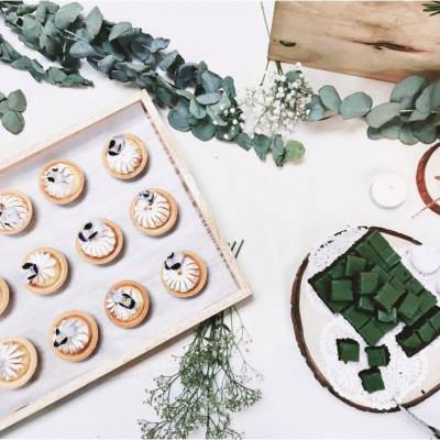 #wedding #candytable #design #sweetpetitek #lemon #meringue #tart