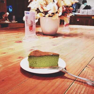 #muji #cafe #matcha # cheesecake
