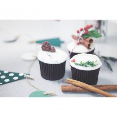 #cupcake #triplet #christmas #workshop