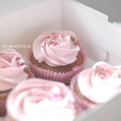 #homemade #rose #earlgrey #cupcake #hkcakeshop