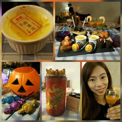 DK Cuppa Tea Sheung Wan  的halloween set  並唔係只得個樣, 味道仲好正!  謀殺了相機sd卡不少位置!  供應期限:  10月3日-31日中午12時至晚上8時  #halloween #dkcuppatea #Teaset #food