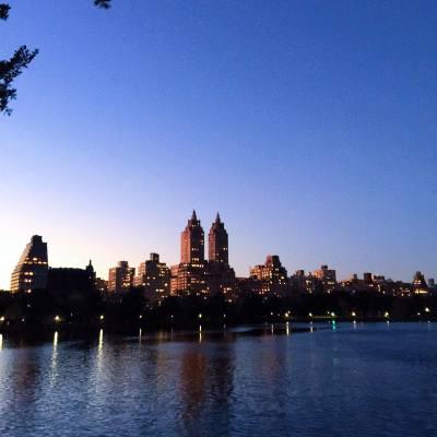 #centralpark #newyork #sunset