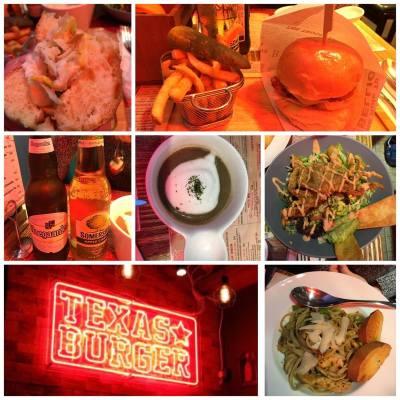 #天后真係好多野食 #texasburger #burger #好好味 #軟殼蟹
